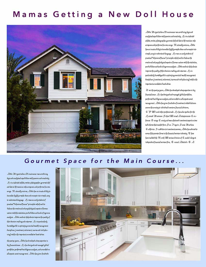 Flyer, Articles, Etc. - Featured Home Article 1